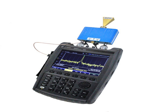Portable Handheld MM-Wave Solution OML introduces its new mixer series specifically designed for handheld spectrum analyzers as a portable solution for millimeter wave spectrum analysis measurement.This harmonic mixer provides you the ease of portable field measurement in a one box solution.